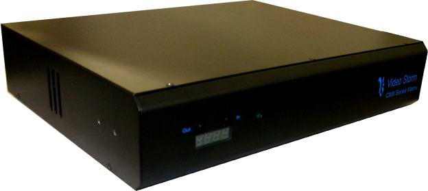 CMX3838A2 (no NAB100):  AV 38x38 matrix switch with full DSP audio